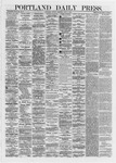 Portland Daily Press: June 03,1872