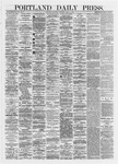 Portland Daily Press: June 08,1872