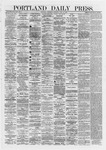 Portland Daily Press: June 12,1872