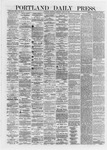 Portland Daily Press: June 13,1872