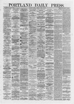 Portland Daily Press: June 14,1872