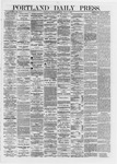 Portland Daily Press: June 17,1872