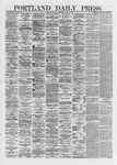 Portland Daily Press: June 18,1872