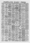 Portland Daily Press: June 19,1872