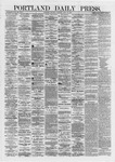 Portland Daily Press: June 22,1872