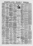 Portland Daily Press: June 28,1872