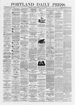 Portland Daily Press: July 06,1872