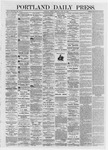 Portland Daily Press: July 12,1872