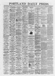 Portland Daily Press: July 25,1872