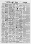 Portland Daily Press: July 27,1872