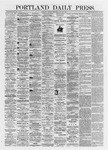 Portland Daily Press: July 29,1872