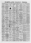 Portland Daily Press: September 11,1872