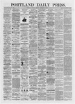 Portland Daily Press: September 12,1872