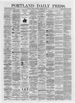 Portland Daily Press: September 13,1872
