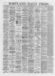 Portland Daily Press: September 23,1872