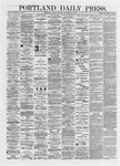 Portland Daily Press: September 24,1872