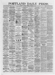 Portland Daily Press: September 25,1872