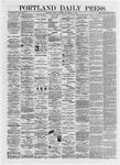 Portland Daily Press: September 27,1872