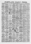 Portland Daily Press: September 28,1872