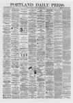 Portland Daily Press: September 30,1872