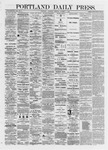 Portland Daily Press: October 05,1872