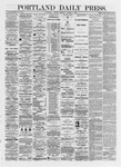 Portland Daily Press: October 07,1872