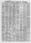 Portland Daily Press: October 10,1872