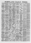 Portland Daily Press: October 11,1872