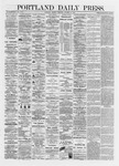 Portland Daily Press: October 14,1872