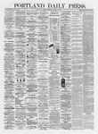 Portland Daily Press: October 15,1872