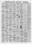 Portland Daily Press: October 16,1872