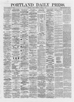 Portland Daily Press: October 18,1872