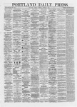 Portland Daily Press: October 19,1872