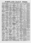Portland Daily Press: October 22,1872