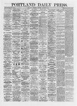 Portland Daily Press: October 23,1872