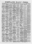 Portland Daily Press: October 24,1872