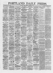 Portland Daily Press: October 25,1872