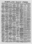 Portland Daily Press: October 26,1872