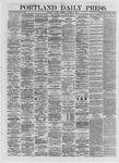 Portland Daily Press: October 29,1872