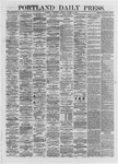 Portland Daily Press: October 30,1872