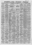 Portland Daily Press: January 01,1872