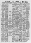 Portland Daily Press: January 06,1872