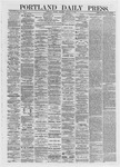 Portland Daily Press: January 08,1872