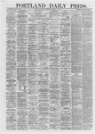 Portland Daily Press: January 11,1872