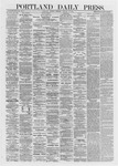 Portland Daily Press: January 15,1872