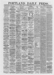 Portland Daily Press: January 17,1872