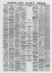 Portland Daily Press: January 20,1872