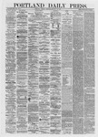 Portland Daily Press: January 22,1872