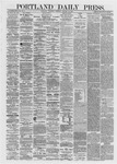 Portland Daily Press: January 25,1872