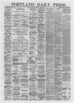 Portland Daily Press: March 07,1872